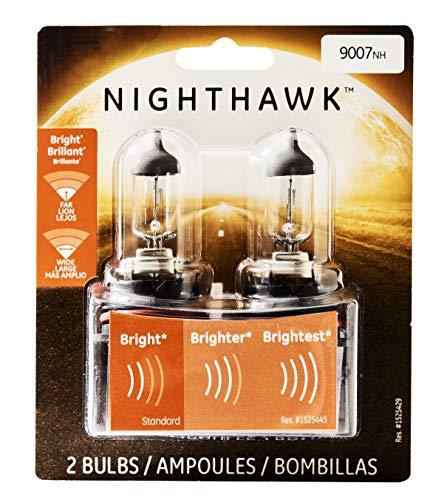 GE Lighting 9007NH/BP2 Nighthawk Halogen Automotive Headlight Bulbs, 2-Pack
