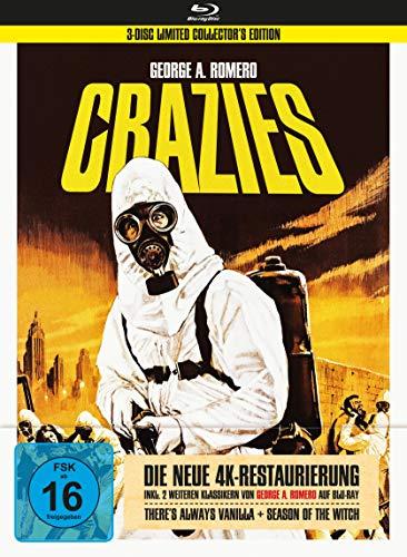George A. Romero's Crazies (+ Bonusfilme) - 3-Disc Collector's Edition im Mediabook [Blu-ray]