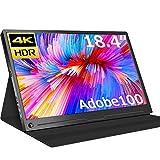 cocopar 18.4インチ/4K adobe100色域 HDR/モバイルモニター/モバイルディスプレイ/薄型/IPSパネル/USB Type-C/標準HDMI/mini DP/1513g/3年保証