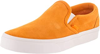 be1384af3a1262 Vans Unisex Classic Slip-On (Soft Suede) Soft Suede Zinnia True