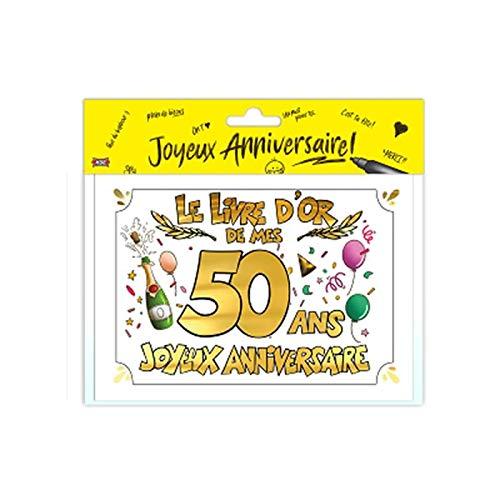 Livre d'or 50 ans