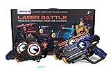 D'Arpèje - Laser Battle - Laser Game - ODAR77 - Set 2 Joueurs : Pistolets Laser +...