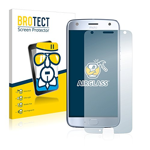 BROTECT Panzerglas Schutzfolie kompatibel mit Motorola Moto X4 - AirGlass, extrem Kratzfest, Anti-Fingerprint, Ultra-transparent