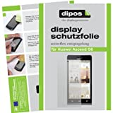 dipos I 2X Schutzfolie matt kompatibel mit Huawei Ascend G6 Folie Bildschirmschutzfolie