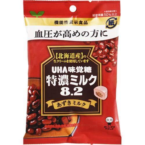 味覚糖 特濃ミルクあずきミルク93g