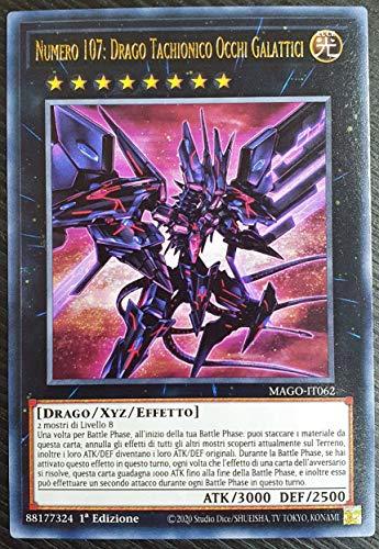 Yu-Gi-Oh - Numero 107: Drago Tachionico Occhi Galattici - Rara - MAGO-IT062 - ITALIANO