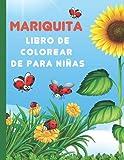 Libro de colorear de mariquita para niñas: Cute & Fun Ladybug Coloring Pages para niños de 4 a 8 años, el mejor regalo para niños y niñas