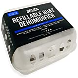 Refillable Boat Dehumidifier Moisture Absorber with Bag for Damp Air Basement Closet Home RV or Boating