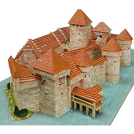 Castello Di Chillon Svizzera Aedes Ars 1012 Mattoni Ceramica Kit Di Modellismo In Ceramica Amazon It Giochi E Giocattoli