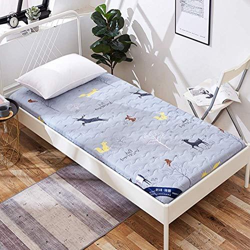ZLJ Alfombrilla de Tatami futón Plegable Colchón de Tatami Colchoneta para Dormir Suave y Gruesa Almohadilla de colchón para Dormitorio de Estudiantes japoneses H 150x190cm (59x75inch)