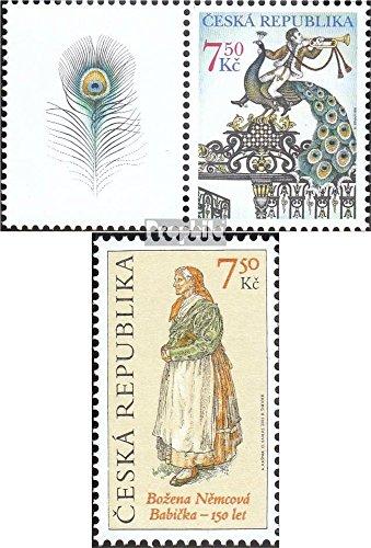république tchèque mer.-no.: 423Zf avec Ornement,424 (complète.Edition.) 2005 Merci, Grand-mère (Timbres pour Les collectionneurs) Uniformes / Costumes