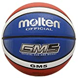 Molten BGMX7-C Bgmx-C Basketball, Red/White/Blue, Official Size 7
