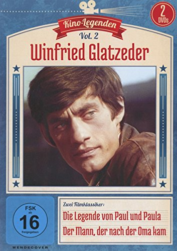 Winfried Glatzeder - Die Legende von Paul und Paula/Der Mann, der nach der Oma kam - Kino-Legenden Vol. 2 [2 DVDs]