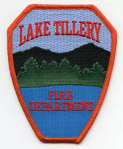 Embroidered Patch - Patches for Women Man - Lake TILLERY North Carolina NC FIRE