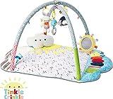 GUND Baby Tinkle Crinkle Arch Playmat with Lights & Sounds Sensory Stimulating Plush Set