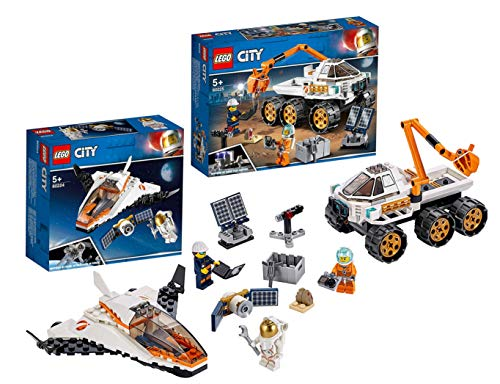 LEGO 60225 - City Rover-Testfahrt, Bauset 60224 - City Satelliten-Wartungsmission, Bauset