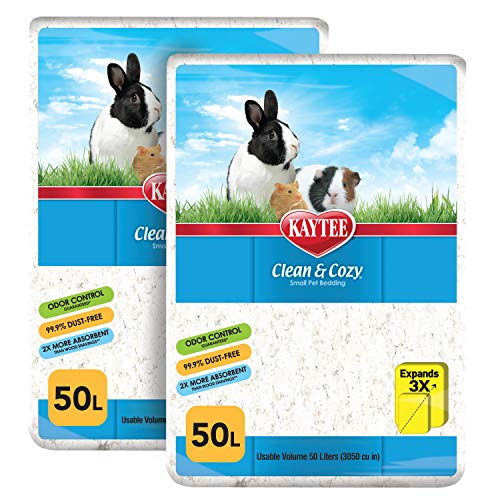 Kaytee Clean & Cozy White Small Animal Bedding SIOC 2/50 Liters