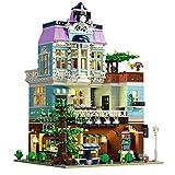 Sungvool The Cafe Architecture - Juego de construcción para coleccionistas de juguetes con luces LED (3430 piezas)