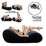 LGGUC6 Aufblasbare multifunktionale Sofa-Yoga-Liege/Entspannungsstuhl tragbare magische Matte Rampe...