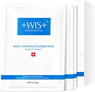 Best WIS Hydrating Smoothing Face Facial Mask Sheet 10 Packs with Hyaluronic Acid,Deeply Moisturizing,Shrink Pores,Anti Aging& Wrinkle,Oil Control & Treat Acne for All Skin Type Review
