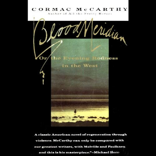 Cover of Blood Meridian audiobook