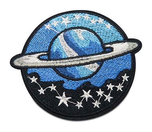 Finally Home Mond mit Sternen Bügelbild Patch zum Aufbügeln | Patches, Aufbügelmotive