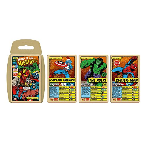 Top Trumps 13747 Marvel Comics - Juego de Cartas Retro