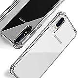Beetop Kompatibel Mit Samsung Galaxy A50 Hülle Schutzhülle [Verdickung an 4 Seite] Handyhülle Transparent Weiche Silikon TPU Rückschale Hülle Cover Für Samsung Galaxy A50/A50s/A30s - Durchsichtig(WSJ)