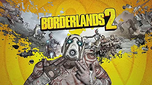 JUNLIZHU Borderlands The Handsome Collection (62cm x 35cm | 25inch x 14inch) Silk Print Poster Silk Printing / A489C8