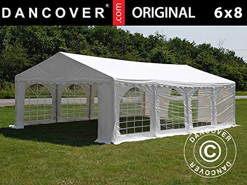 Dancover Partytent Original 6x8m PVC, Wit