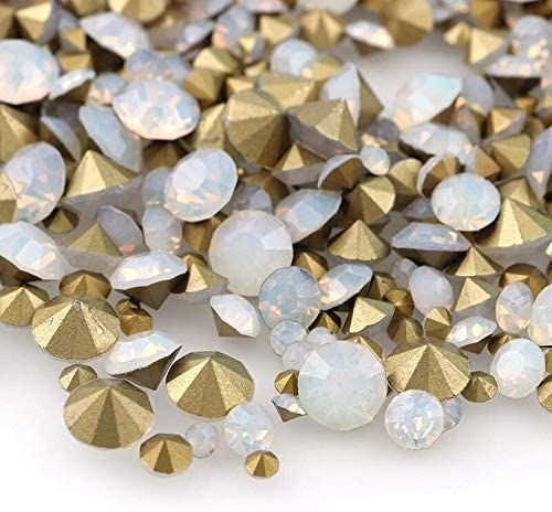 RD-13138 Decor Rhinestone 1 Bag Mix Size Color Max 67% 2021 new OFF White Nail A Opal