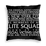 Lingsheng Law and Order SVU Special Victims Unit Introduction Dick Wolf Classic Pullover Hoodie -£¨1£ Velvet Pillowcase Floor Pillowcase Sofa Cushion Cushion Cover Backrest Over Seat Cushion Interior