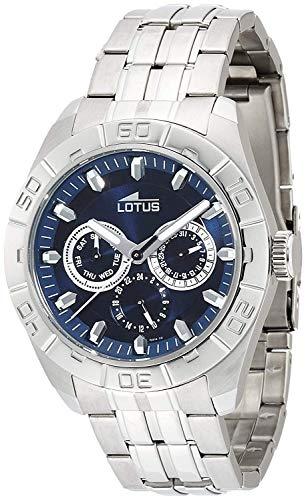 Rellotge Lotus 15814/A de Acero Inoxidable y Esfera Azul