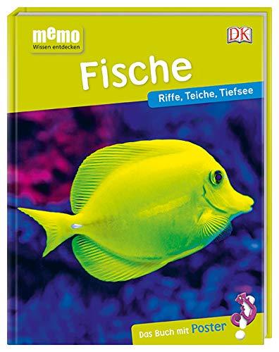 memo Wissen entdecken. Fische: Riffe, Teiche, Tiefsee. Das Buch mit Poster!