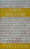 Tusculum-Bücherei: Fabeln der Antike - Harry C. Schnur