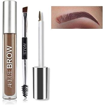 FOXCESD Eyebrow Gel Waterproof, 24 Hours Long Lasting for Eyebrow Makeup (Auburn)