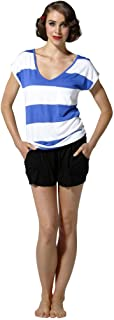 Betty Basics - Cairo Short (BB409 - Black, Electric Blue, Electric Pink)