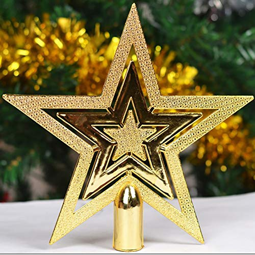 LONDADI Christmas Decorations Sale, Outdoor Home Decor Merry Christmas Ornaments Tree Topper Glitter Star Decoration Merry Christmas Ornaments Xmas Decor Party Decor Xmas Gifts Stocking Fillers