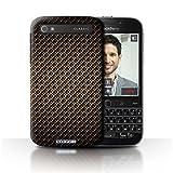 Stuff4 Hülle/Hülle für BlackBerry Classic/Q20 / Gold