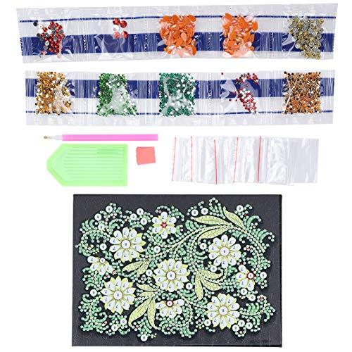 Cocosity Caja de almacenamiento de joyas con forma de diamante 5D, aspecto exquisito y brillante, para la familia, manualidades, regalos y amigos.
