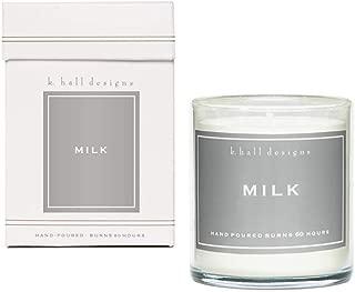 K. Hall Designs Jar Candle, Milk