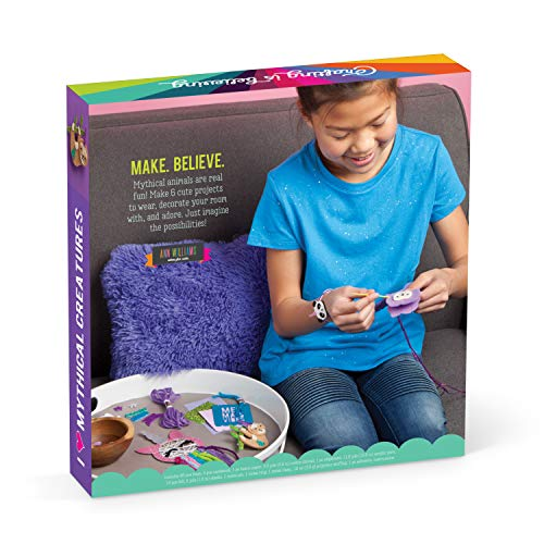 Craft-tastic - I Love Mythical Creatures Kit - Craft Kit Includes 6 Projects Featuring Mythical Creatures