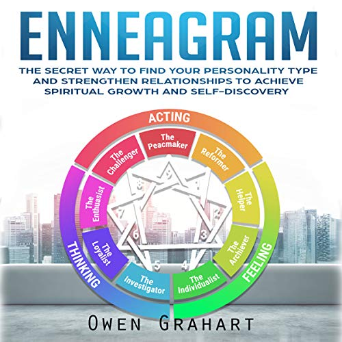 Enneagram: The Secret Way to Find Your Personality Type and Strengthen Relationships to Achieve Spiritual Growth and Self-Discovery Titelbild