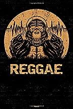 Reggae Planner: Gorilla Reggae Music Calendar 2020 - 6 x 9 inch 120 pages gift
