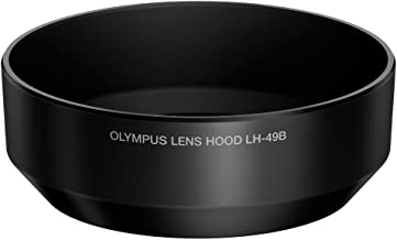 Olympus LH-49B - Tapa de Objetivo para M.Zuiko Digital ED 25 mm f:1.8, Negro