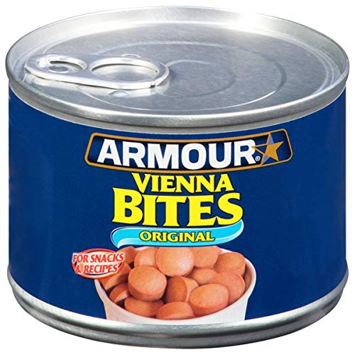 Armour Star Vienna Sausage Bites, Original Flavor, Canned Sausage, 10 OZ (Pack of 12)