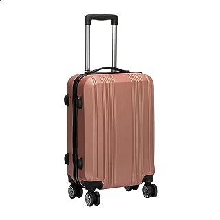 JB Luggage Trolley Travel Bag, Size 20 - Rose Gold