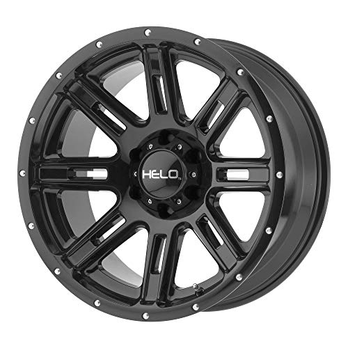 HELO Custom Wheel Rim HE900 Gloss Black (20' x 9', +18 Offset, 6x135 Bolt...