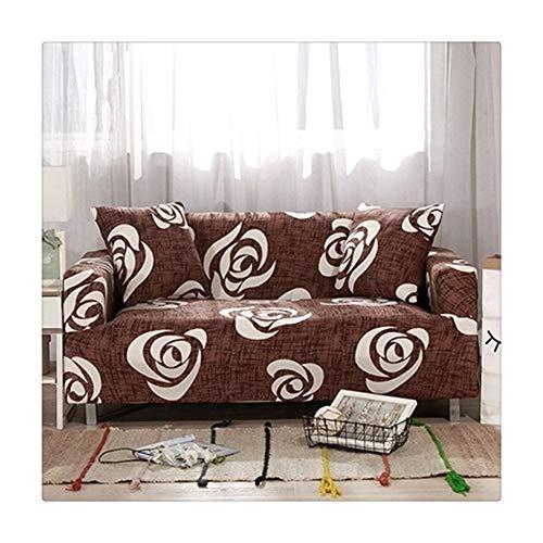 ASVNDD Fundas Sofá Cubre Todo Incluido Sección Elástica Llena De Toallas Sofá Sofá Cubierta Antideslizante Individual/Dos/Tres/Cuatro Plazas (Color : 9, Specification : Two Seat Sofa)