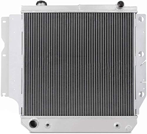 87-06 For Jeep Wrangler Radiator, 3 Row Core All Aluminum Radiator for Jeep Wrangler YJ TJ 1987-2006 88 89 90 91 92 93 94 95 96 97 98 99 00 01 02 03 04 05 2.4L 2.5L 4.0L 4.2L, L4 L6